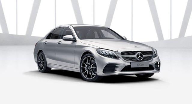 Demonstrator Mercedes-Benz C-Class W205 801MY C300 9G-Tronic Mulgrave, 2021 Mercedes-Benz C-Class W205 801MY C300 9G-Tronic Iridium Silver 9 Speed Sports Automatic Sedan