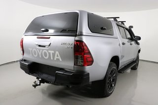 2017 Toyota Hilux GUN126R MY17 SR5+ (4x4) Silver 6 Speed Manual Dual Cab Utility