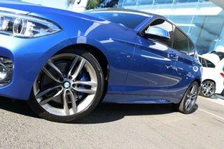 2018 BMW 125i F20 LCI MY18 M Sport Estoril Blue 2 Metallic 8 Speed Automatic Hatchback.