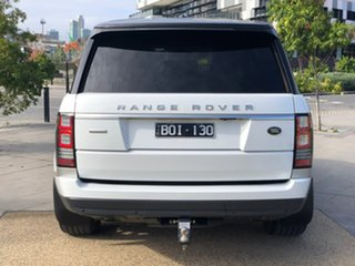 2013 Land Rover Range Rover L405 14MY Autobiography White 8 Speed Sports Automatic Wagon
