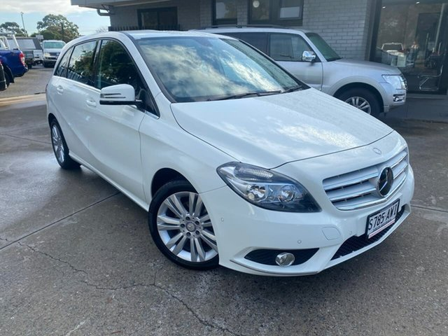 Used Mercedes-Benz B200 246 MY13 BE Hillcrest, 2013 Mercedes-Benz B200 246 MY13 BE White 7 Speed Auto Direct Shift Hatchback