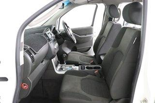2012 Nissan Navara D40 MY12 ST (4x4) White 5 Speed Automatic Dual Cab Pick-up