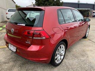 2015 Volkswagen Golf VII MY15 103TSI DSG Highline Red 7 Speed Sports Automatic Dual Clutch Hatchback