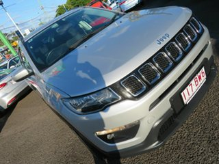 2018 Jeep Compass M6 MY18 Longitude FWD Silver 6 Speed Automatic Wagon