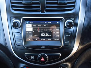 2016 Hyundai Accent RB4 MY16 Active Silver 6 Speed CVT Auto Sequential Hatchback