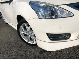 2013 Nissan Pulsar C12 SSS White 6 Speed Manual Hatchback.