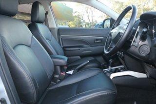 2012 Mitsubishi ASX XB MY13 Aspire (4WD) Silver Continuous Variable Wagon