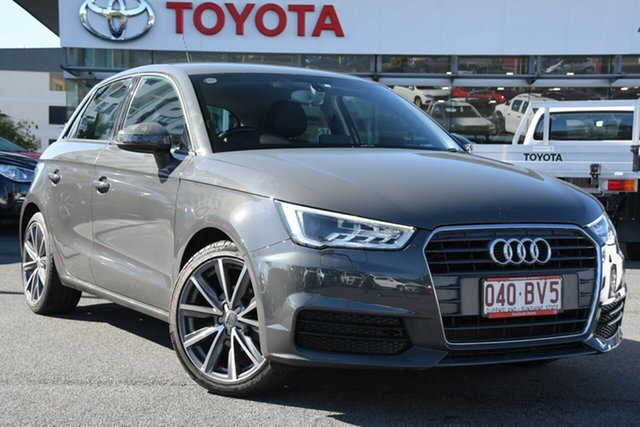 Pre-Owned Audi A1 8X MY17 Sportback S Tronic Upper Mount Gravatt, 8X MY17 SPORTBACK 5DR S TRONIC 7SP 1.0T