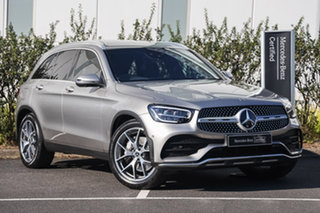 2020 Mercedes-Benz GLC-Class X253 800+050MY GLC200 9G-Tronic Mojave Silver 9 Speed Sports Automatic.