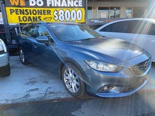 2012 Mazda 6 SPORT Blue 6 Speed Auto Active Select Wagon