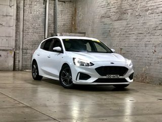 2018 Ford Focus SA 2019MY ST-Line White 8 Speed Automatic Hatchback.