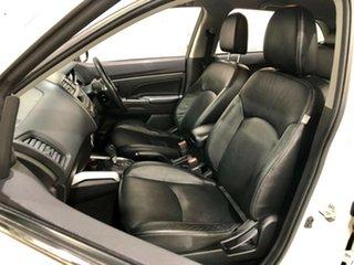 2012 Mitsubishi ASX XA MY12 Platinum 2WD White 6 Speed Constant Variable Wagon