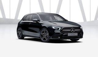 2021 Mercedes-Benz A-Class W177 801+051MY A180 DCT Night Black 7 Speed Sports Automatic Dual Clutch