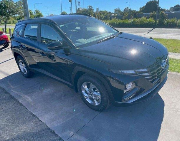 New Hyundai Tucson NX4.V1 MY22 2WD Mount Gravatt, 2021 Hyundai Tucson NX4.V1 MY22 2WD Phantom Black 6 Speed Automatic Wagon