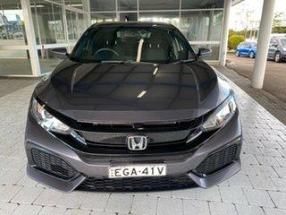 2017 Honda Civic MY17 VTi Grey Constant Variable Hatchback.