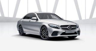 2021 Mercedes-Benz C-Class W205 801MY C300 9G-Tronic Iridium Silver 9 Speed Sports Automatic Sedan