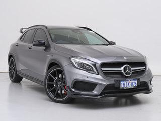 2016 Mercedes-AMG GLA 45 AMG 4MATIC X156 MY16 Grey 7 Speed Auto Dual Clutch Wagon.
