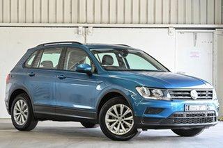 2016 Volkswagen Tiguan 5N MY17 110TSI DSG 2WD Trendline Blue 6 Speed Sports Automatic Dual Clutch.