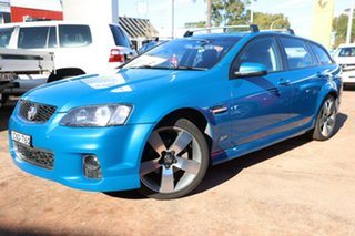 2013 Holden Commodore VE II MY12.5 SV6 Z-Series Blue 6 Speed Automatic Sportswagon.