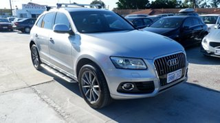 2015 Audi Q5 8R MY15 TDI S Tronic Quattro Silver 7 Speed Sports Automatic Dual Clutch Wagon.