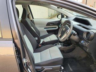 2013 Toyota Prius c NHP10R E-CVT Grey 1 Speed Constant Variable Hatchback Hybrid