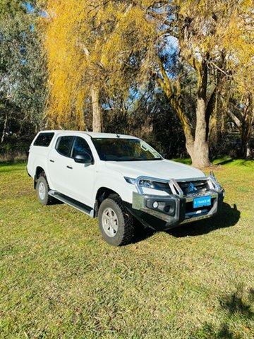Demo Mitsubishi Triton MR MY20 GLX+ Double Cab Mount Barker, 2020 Mitsubishi Triton MR MY20 GLX+ Double Cab White 6 Speed Sports Automatic Utility