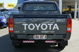 2008 Toyota Hilux TGN16R MY08 Workmate 4x2 Charcoal 5 Speed Manual Utility