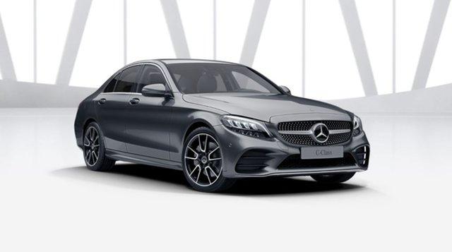 New Mercedes-Benz C-Class W205 801MY C300 9G-Tronic Berwick, 2021 Mercedes-Benz C-Class W205 801MY C300 9G-Tronic Selenite Grey 9 Speed Sports Automatic Sedan