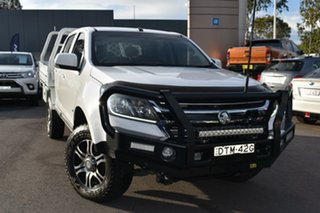 2017 Holden Colorado RG MY17 LS Crew Cab 4x2 White 6 Speed Sports Automatic Cab Chassis.