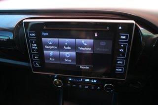 2018 Toyota Hilux GUN126R SR5 Double Cab Nebula Blue 6 Speed Automatic Dual Cab