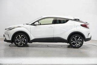 2018 Toyota C-HR NGX10R Koba S-CVT 2WD White 7 Speed Constant Variable Wagon.