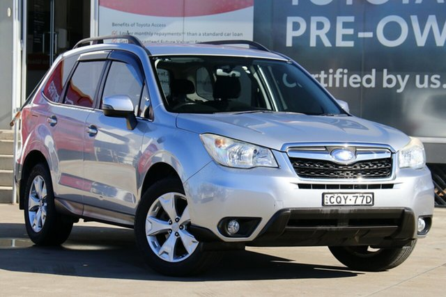 Pre-Owned Subaru Forester MY13 2.5I-L Guildford, 2013 Subaru Forester MY13 2.5I-L Silver Continuous Variable Wagon