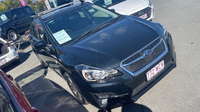 Used Subaru Impreza G4 MY15 2.0i AWD Premium Moorooka, 2015 Subaru Impreza G4 MY15 2.0i AWD Premium Crystal Black 6 Speed Manual Hatchback