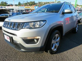 2018 Jeep Compass M6 MY18 Longitude FWD Silver 6 Speed Automatic Wagon.