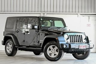 2016 Jeep Wrangler JK MY17 Unlimited Sport Black 5 Speed Automatic Softtop.