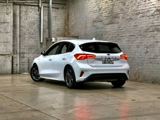 2018 Ford Focus SA 2019MY ST-Line White 8 Speed Automatic Hatchback