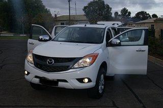 2013 Mazda BT-50 MY13 XTR (4x4) White 6 Speed Manual Dual Cab Utility