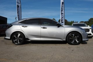 2018 Honda Civic 10th Gen MY18 RS Silver 1 Speed Constant Variable Hatchback