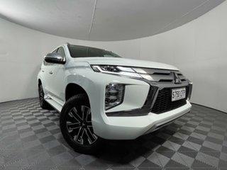 2020 Mitsubishi Pajero Sport QF MY20 GLS White 8 Speed Sports Automatic Wagon.
