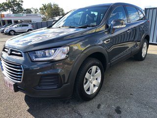 2016 Holden Captiva CG MY16 LS 2WD Son of a Gun Grey 6 Speed Sports Automatic Wagon