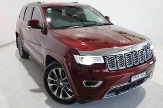 2017 Jeep Grand Cherokee WK MY17 Overland Maroon 8 Speed Sports Automatic Wagon.