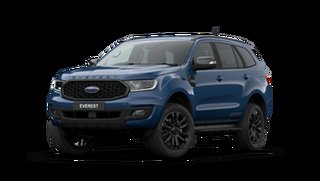 2021 Ford Everest UA II 2021.25MY Sport Deep Crystal Blue 6 Speed Sports Automatic SUV