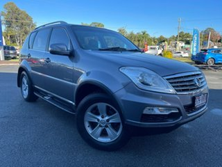 2014 Ssangyong Rexton Y285 II MY14 SX Silver 5 Speed Sports Automatic Wagon.