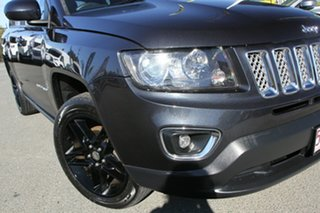 2013 Jeep Compass MK MY14 Limited Maximum Steel/blackleather 6 Speed Sports Automatic Wagon.