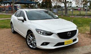 2014 Mazda 6 GJ1031 GT SKYACTIV-Drive White 6 Speed Sports Automatic Sedan.