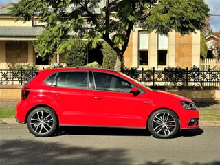 2015 Volkswagen Polo 6R MY15 GTI DSG Red 7 Speed Sports Automatic Dual Clutch Hatchback