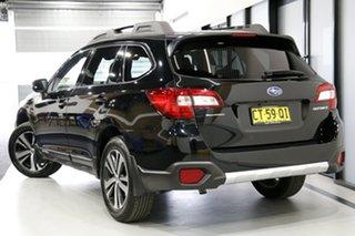 2019 Subaru Outback B6A MY19 2.5i CVT AWD Crystal Black 7 Speed Constant Variable Wagon.