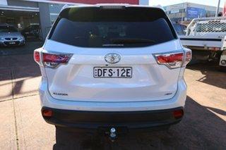 2016 Toyota Kluger GSU55R GXL (4x4) White 6 Speed Automatic Wagon
