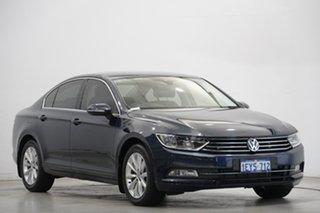 2016 Volkswagen Passat 3C (B8) MY16 132TSI DSG Comfortline Night Blue 7 Speed