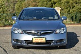 2007 Honda Civic 8th Gen MY07 VTi Blue 5 Speed Automatic Sedan.